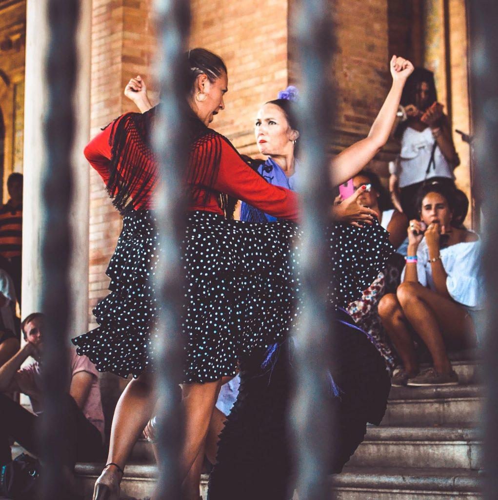 baila flamenco de calle