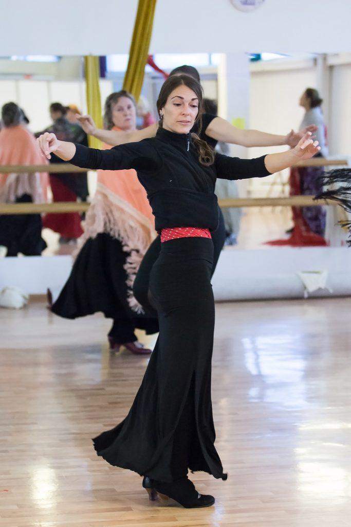 mentoría individual de tecnica de flamenco