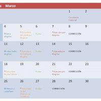 Plan de accion para las clases de flamenco online